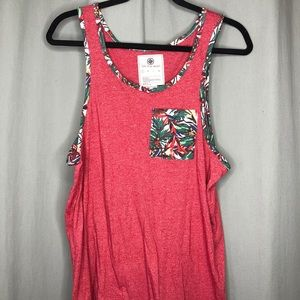 Tank Top Rainforest Accented
